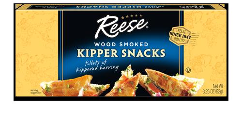 Wood Smoked Kipper Snacks   *Reese