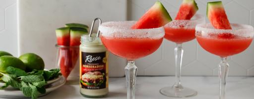 Reese's Spicy Watermelon Cocktail